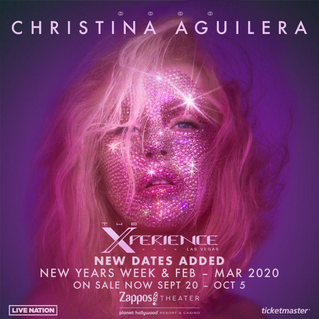 Live Nation Christina Aguilera