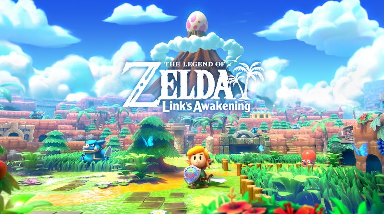 Nintendo Switch Lite launched with The Legend of Zelda: Link's Awakening