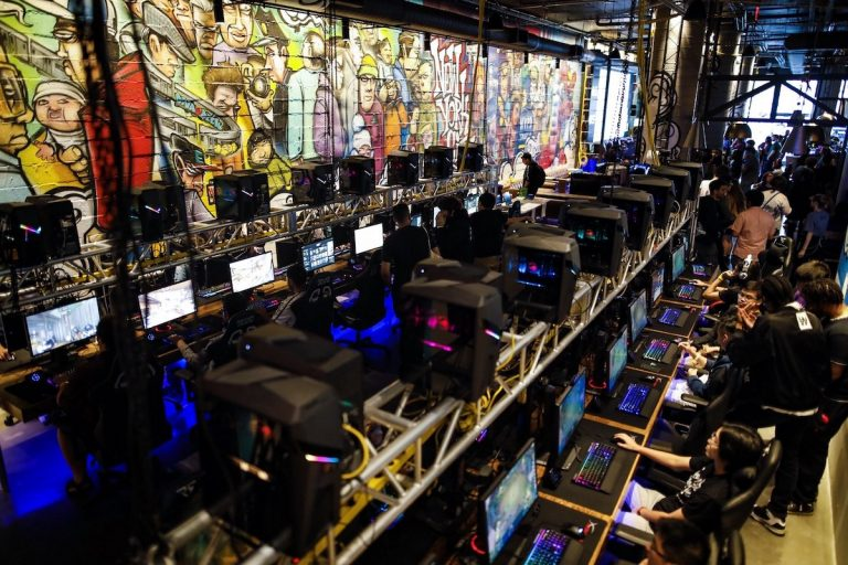 OS NYC is debuting its first fully serviced gaming lounge in New York City