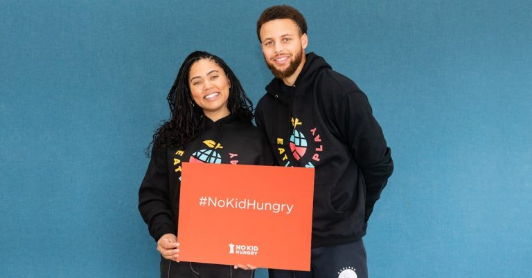 Stephen and Ayesha Curry's Eat. Learn. Play. Foundation and No Kid Hungry Partner to end childhood hunger