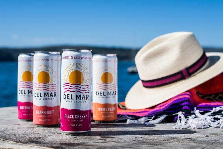 Del Mar Wine Seltzer announces entry into popular $1 billion hard seltzer category