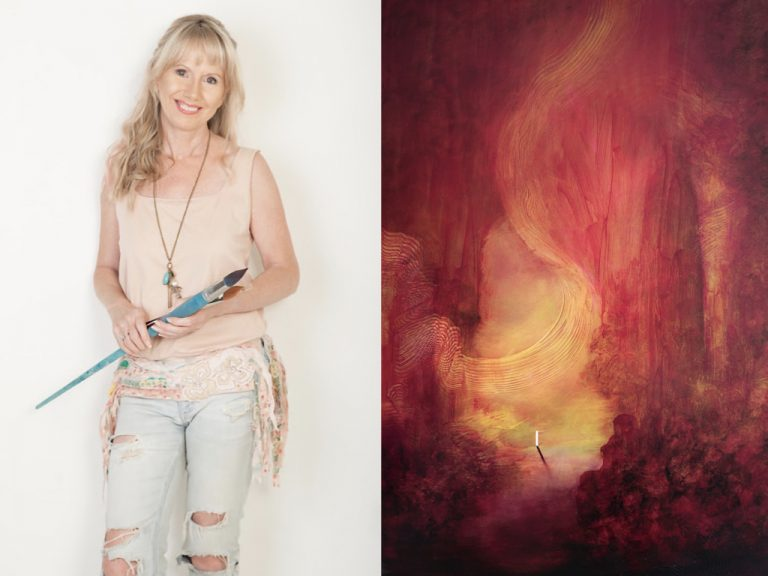 International artist Dr Suzi Morris to donate 50% of artwork proceeds to fund COVID-19 vaccine