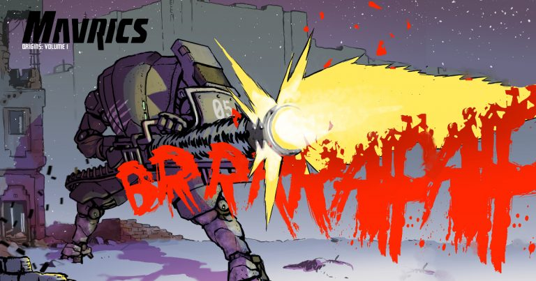MAVRICS: Origins Vol 1 sets fundraising record as fans back new series of post-apocalyptic graphic novels