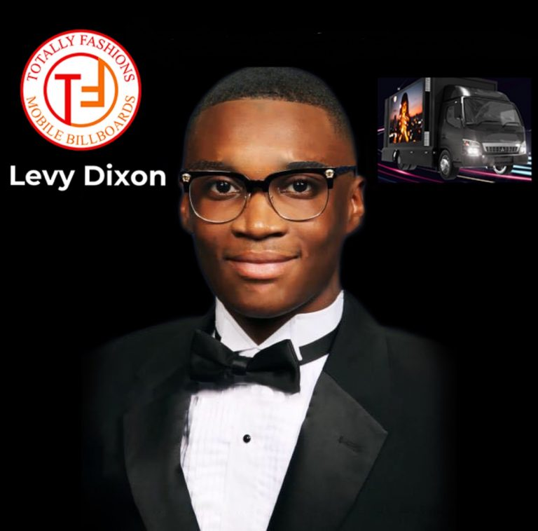 22-year-old entrepreneur Levy Dixon from Fort Pierce, FL expands advertising company with new LED billboard truck