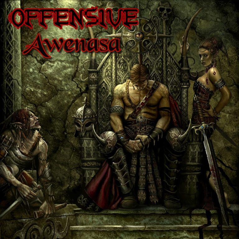 "Speed thrash metal band Offensive unites music legends for 2nd studio album ""Awenasa"""